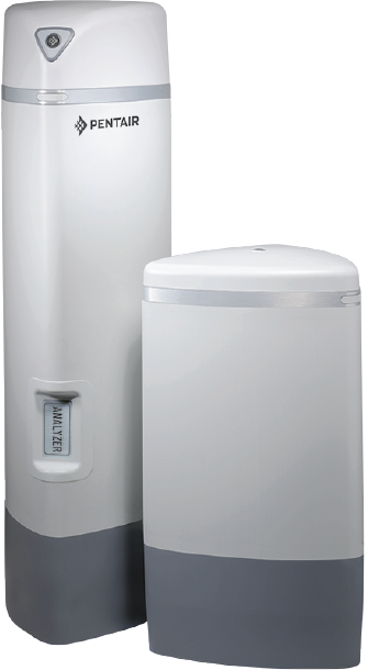 An example of one of PENTAIR's Pro Elite water conditioners