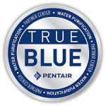 True Blue PENTAIR Water Purification Partner Center seal