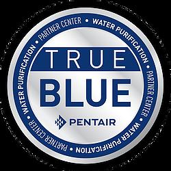 True Blue PENTAIR Water Purification Partner Center seal
