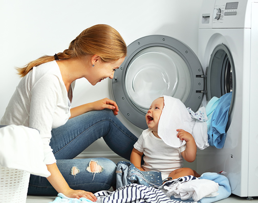 Softer laundry illustrates one of the benefits of using a Houston water softener.