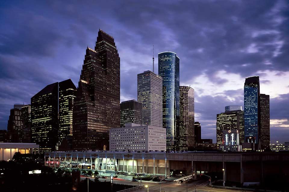 Photo of the Houston downtown skyline